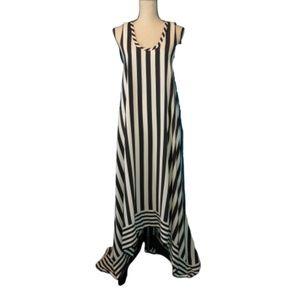 NWT BCBGMaxAzria Gia Silk High-Low Dress Size 2